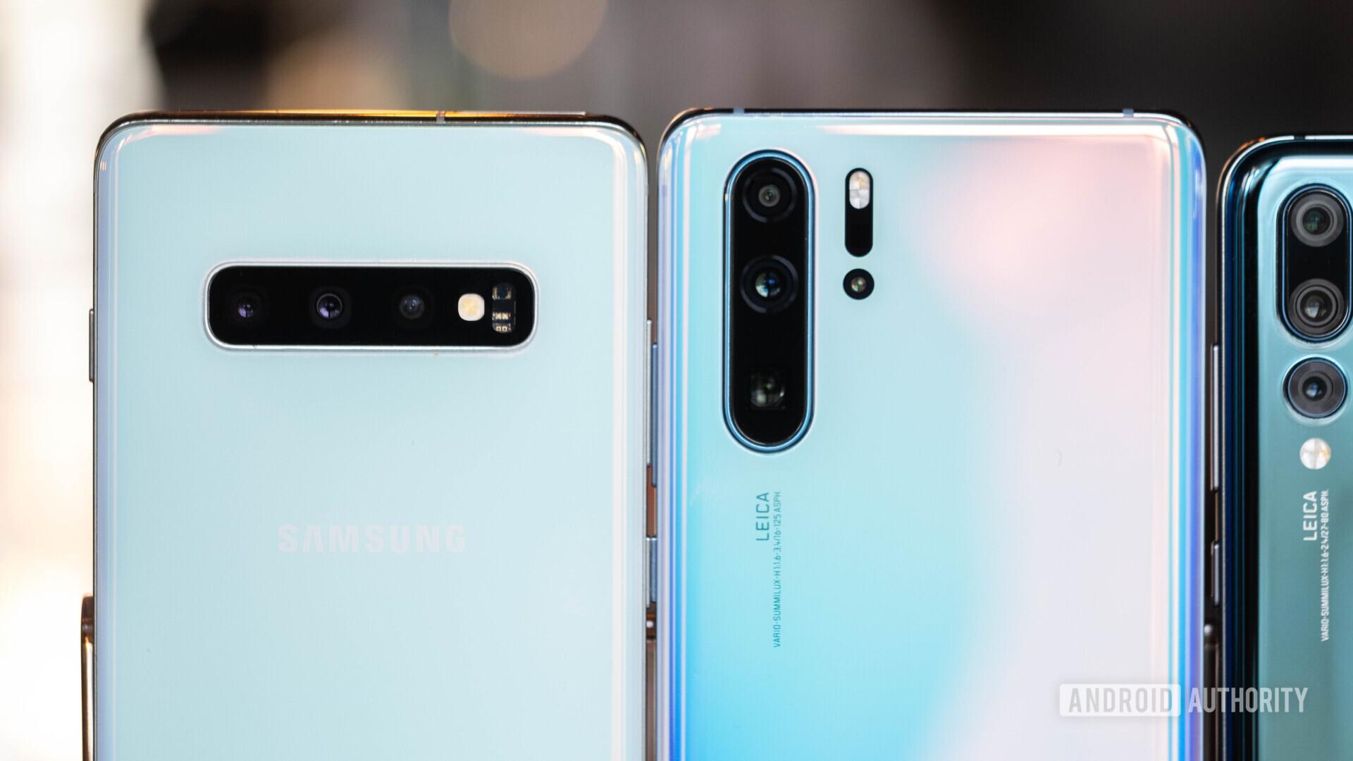 Huawei P30 Pro vs Samsung Galaxy S10 Plus cameras