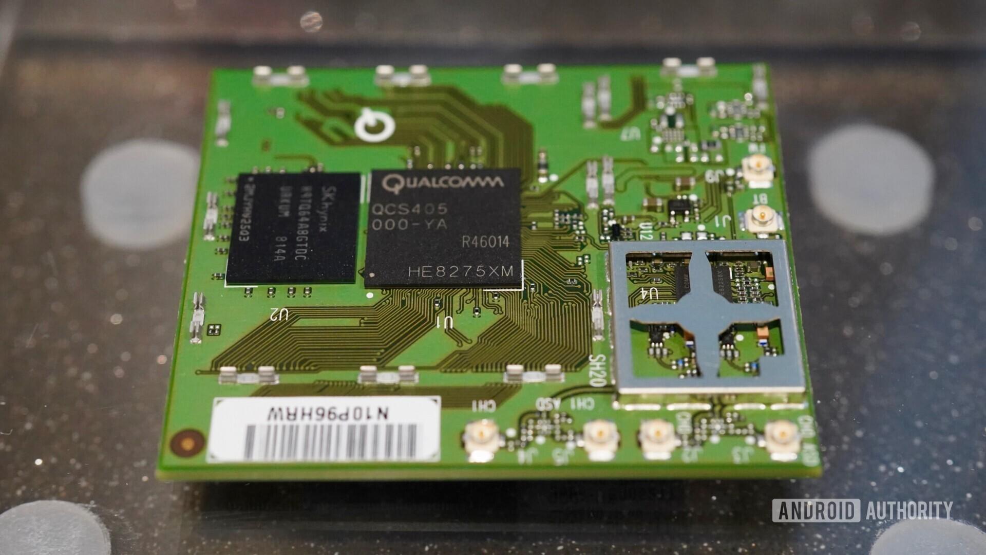 Qualcomm QSC400 S0C for smart speakers