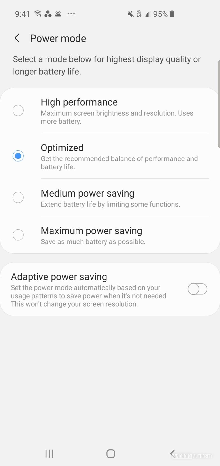 Samsung Galaxy S10 Device care 2
