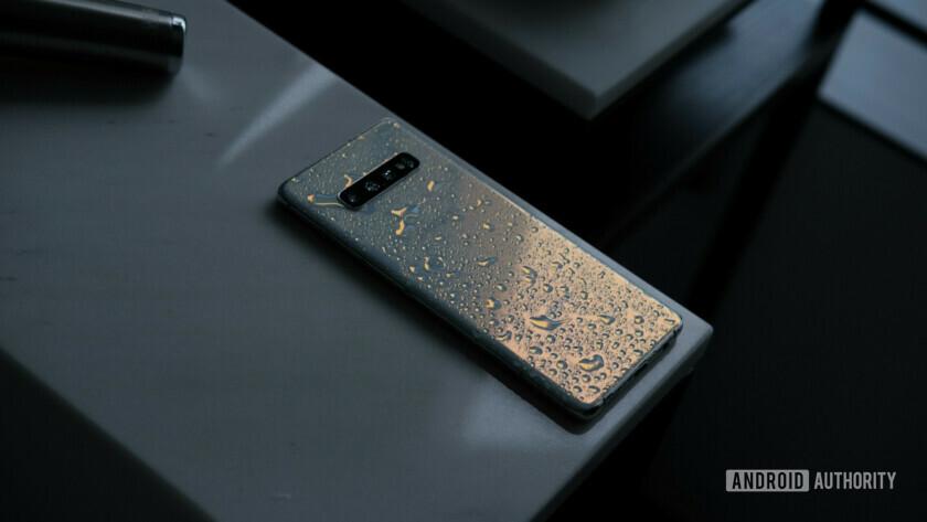 Samsung Galaxy S10 Plus Wet back