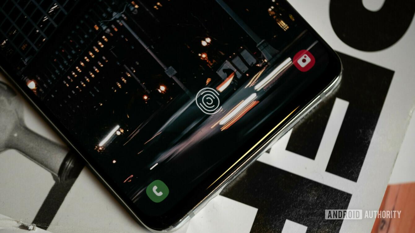 三星Galaxy S10 Plus指纹传感器