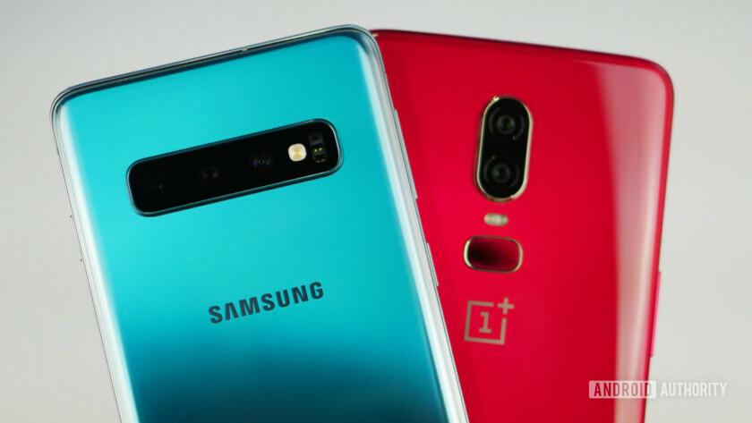 Samsung Galaxy S10 vs OnePlus 6 camera