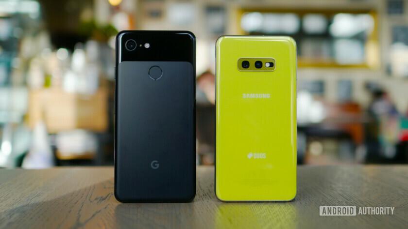 Samsung Galaxy S10e vs Google Pixel 3