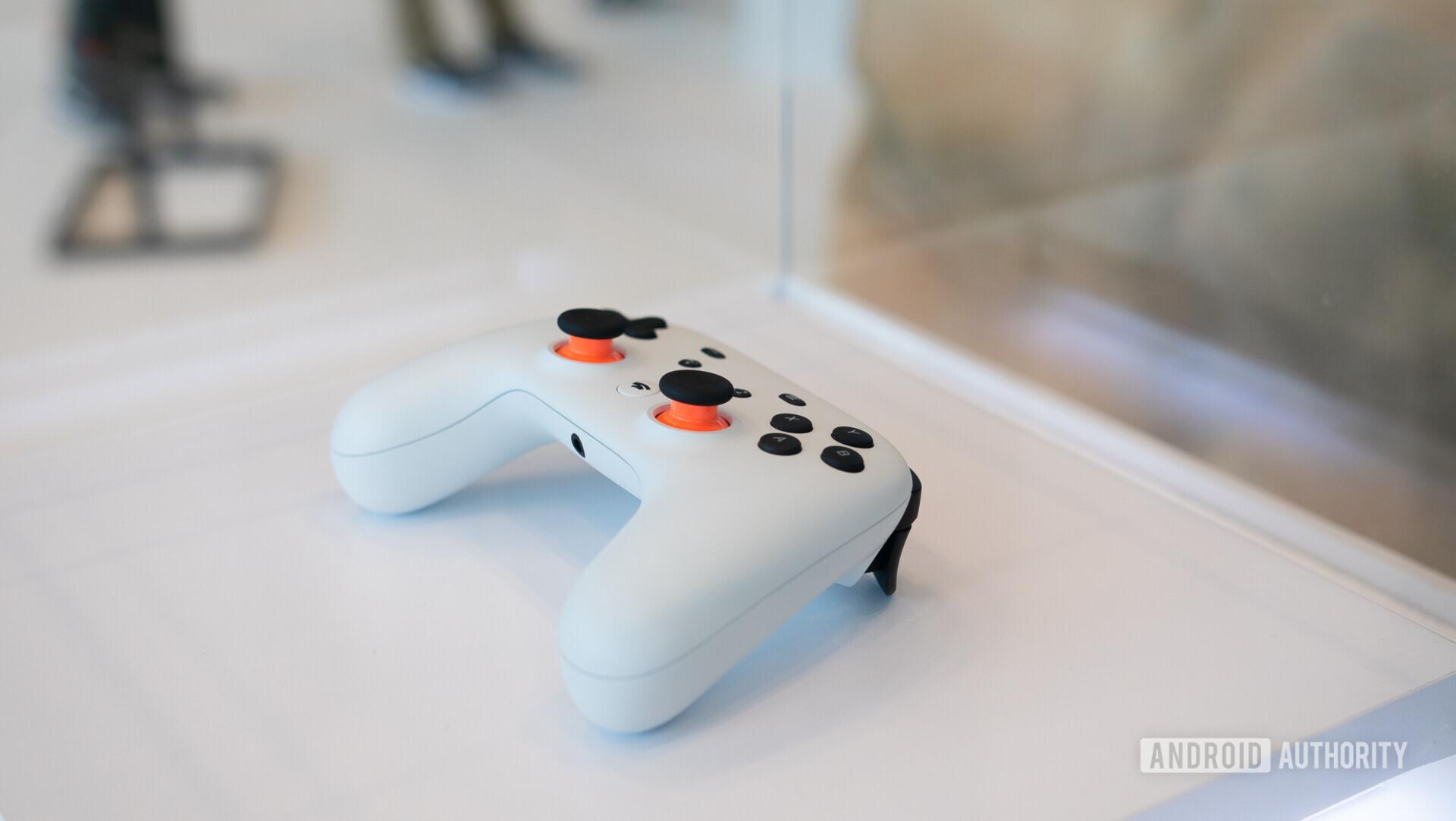 Google Stadia Controller in white