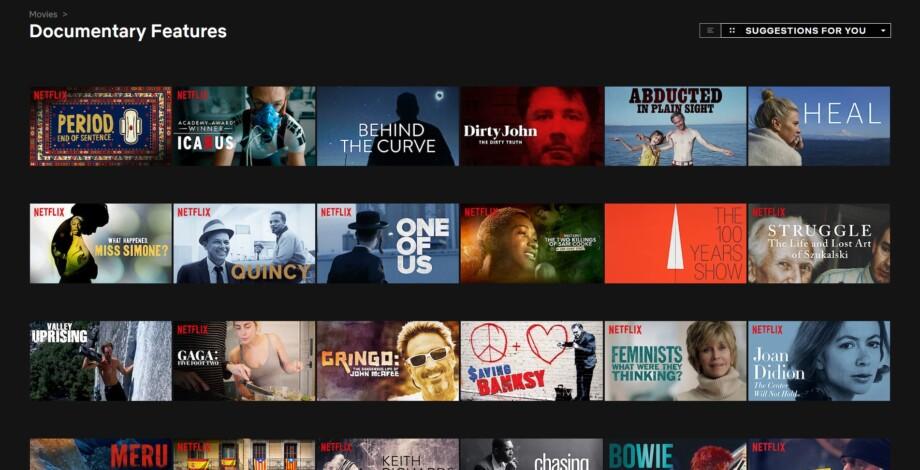 Dokumentärfilm På Netflix