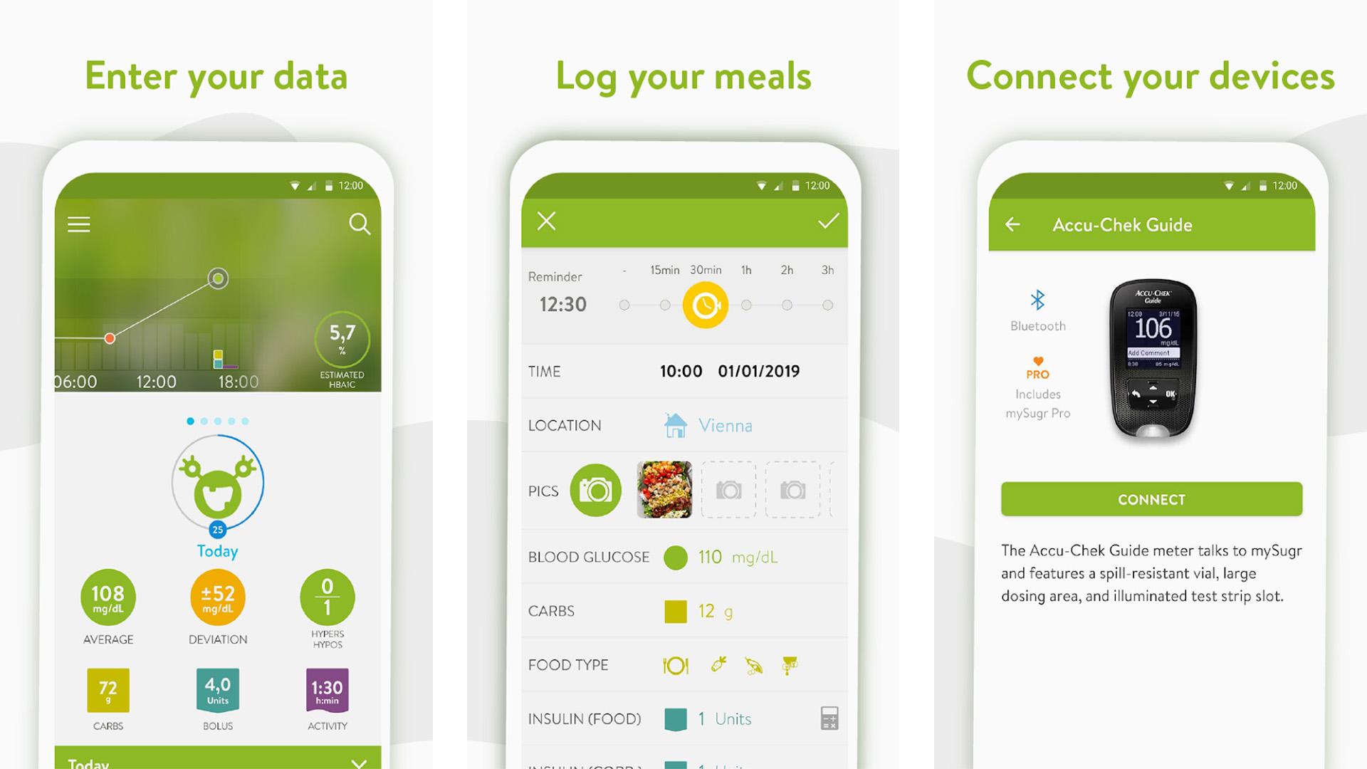 mySugr screenshot 2020