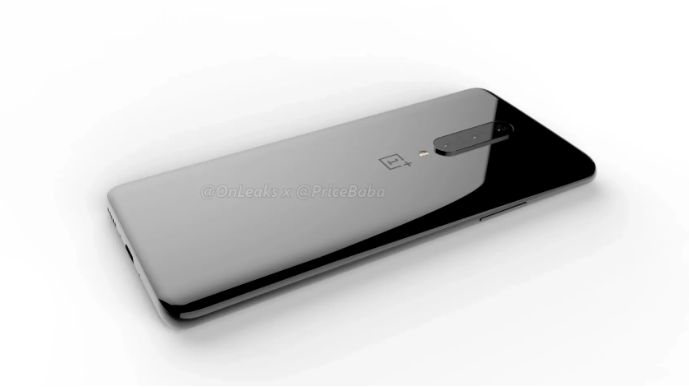 Alleged render of the back side of OnePlus 7