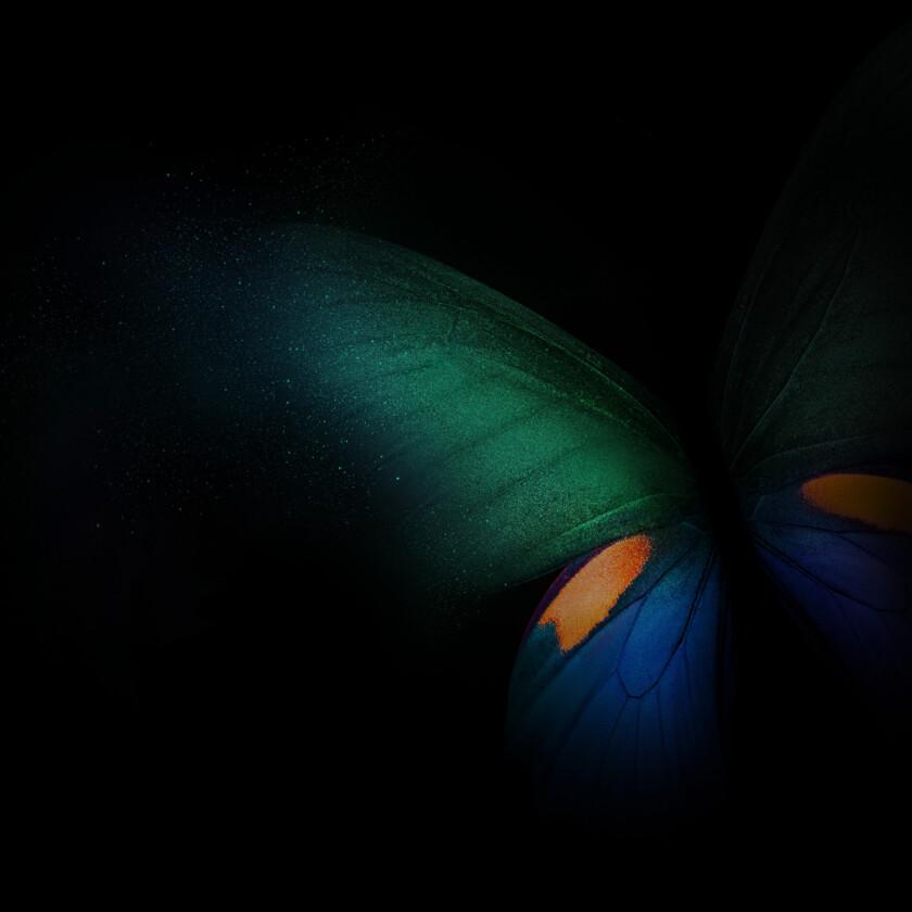 Samsung Galaxy Fold Butterfly Dex Wallpaper
