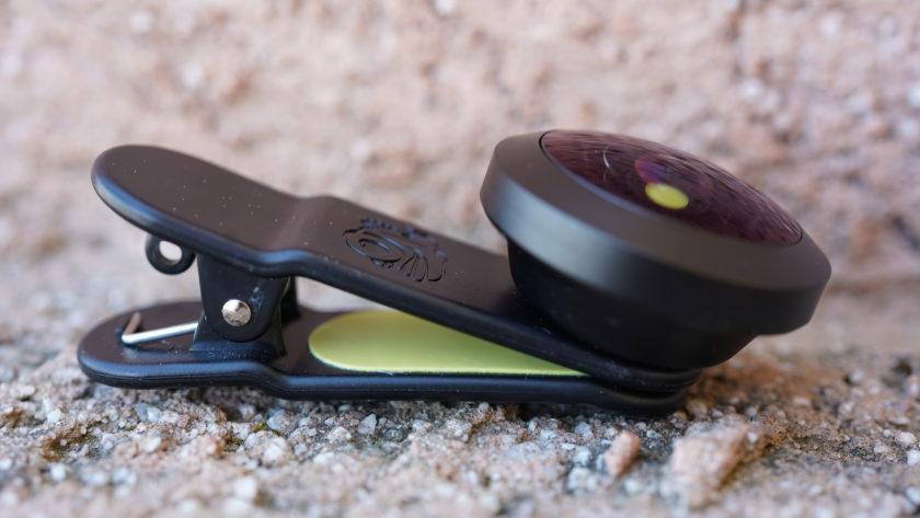 Black Eye Pro Kit G4 review fisheye side view