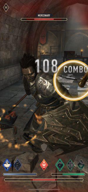 Elder Scrolls Blades tips and tricks combat mercenary