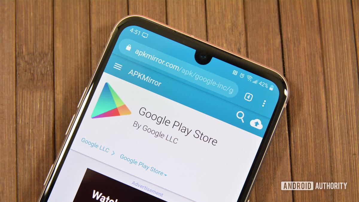 Consola de Google Play