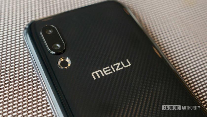 Meizu 16s back logo