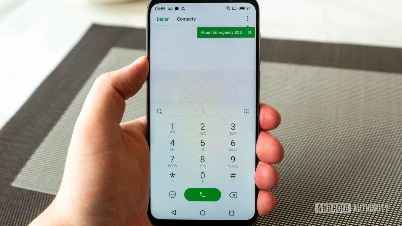 تطبيق Dialer Meizu 16s - تحقق من عمر هاتفك