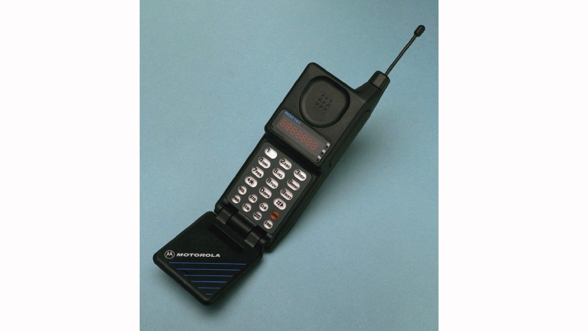 Motorola MicroTAC flip phone
