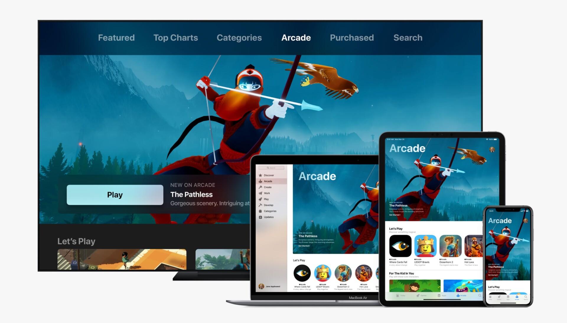 Google Play Pass vs Apple Arcade content banner