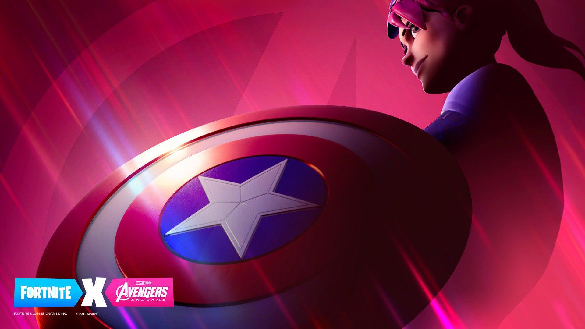 Fortnite Marvel Endgame Crossover Event