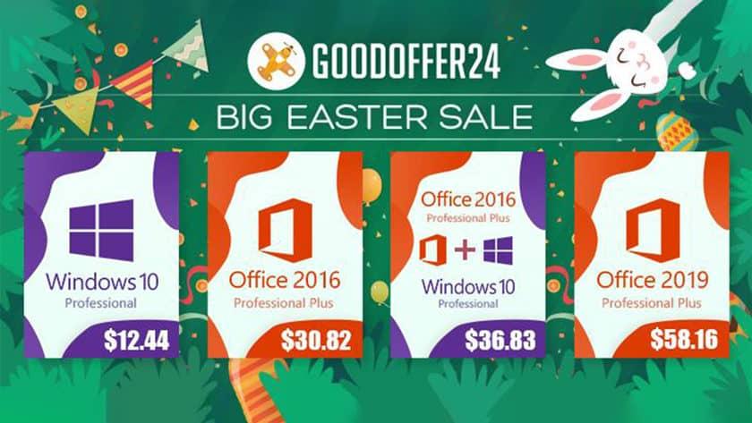 GoodOffer24 Microsoft Easter Sale