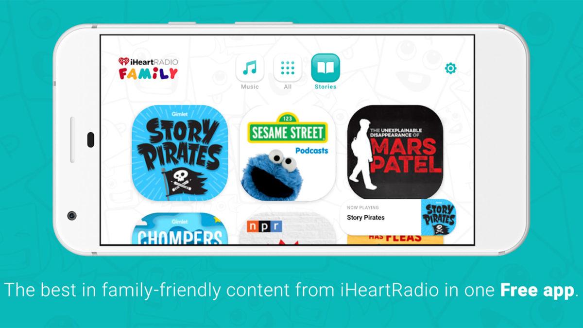 iHeartRadio Family screenshot