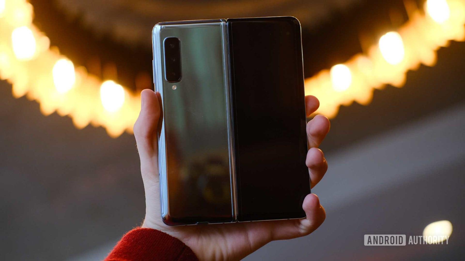 Samsung Galaxy Fold Open Back