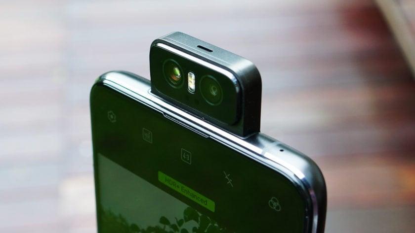 Asus Zenfone 6 flip camera closeup front 3