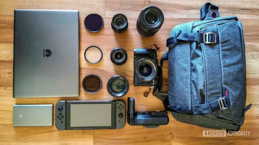 David Imel IO19 gear - camera bag
