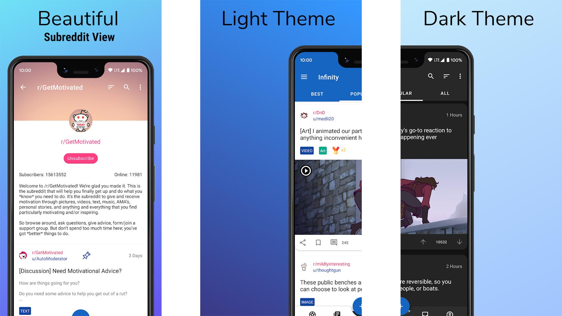Infinity for Reddit screenshot