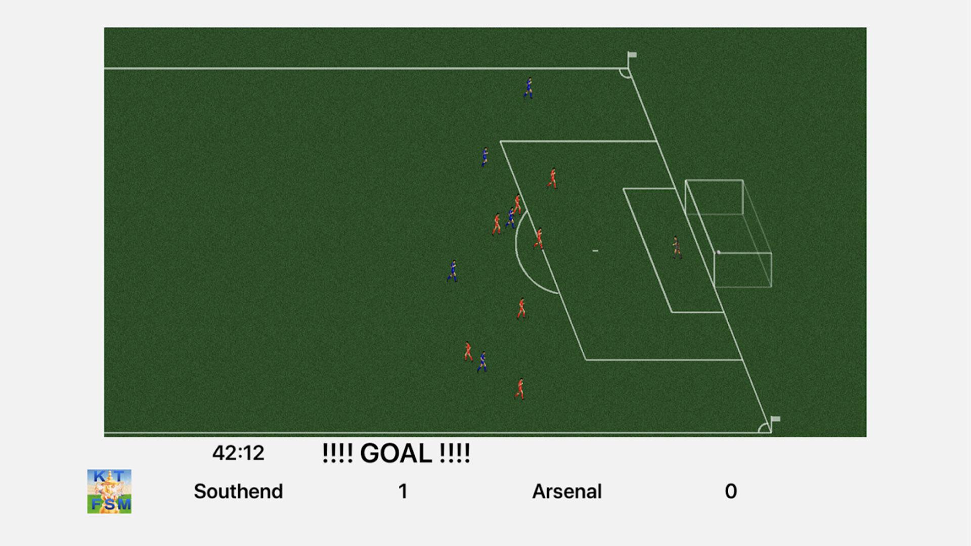Kevin Toms Football screenshot