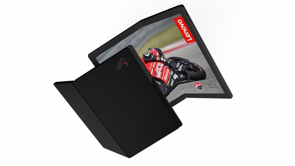 Press render of Lenovo's foldable PC.