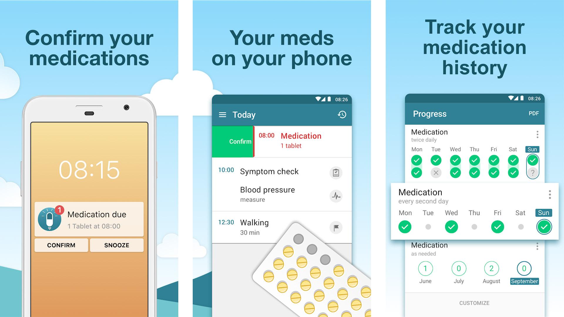 MyTherapy screenshot 2020