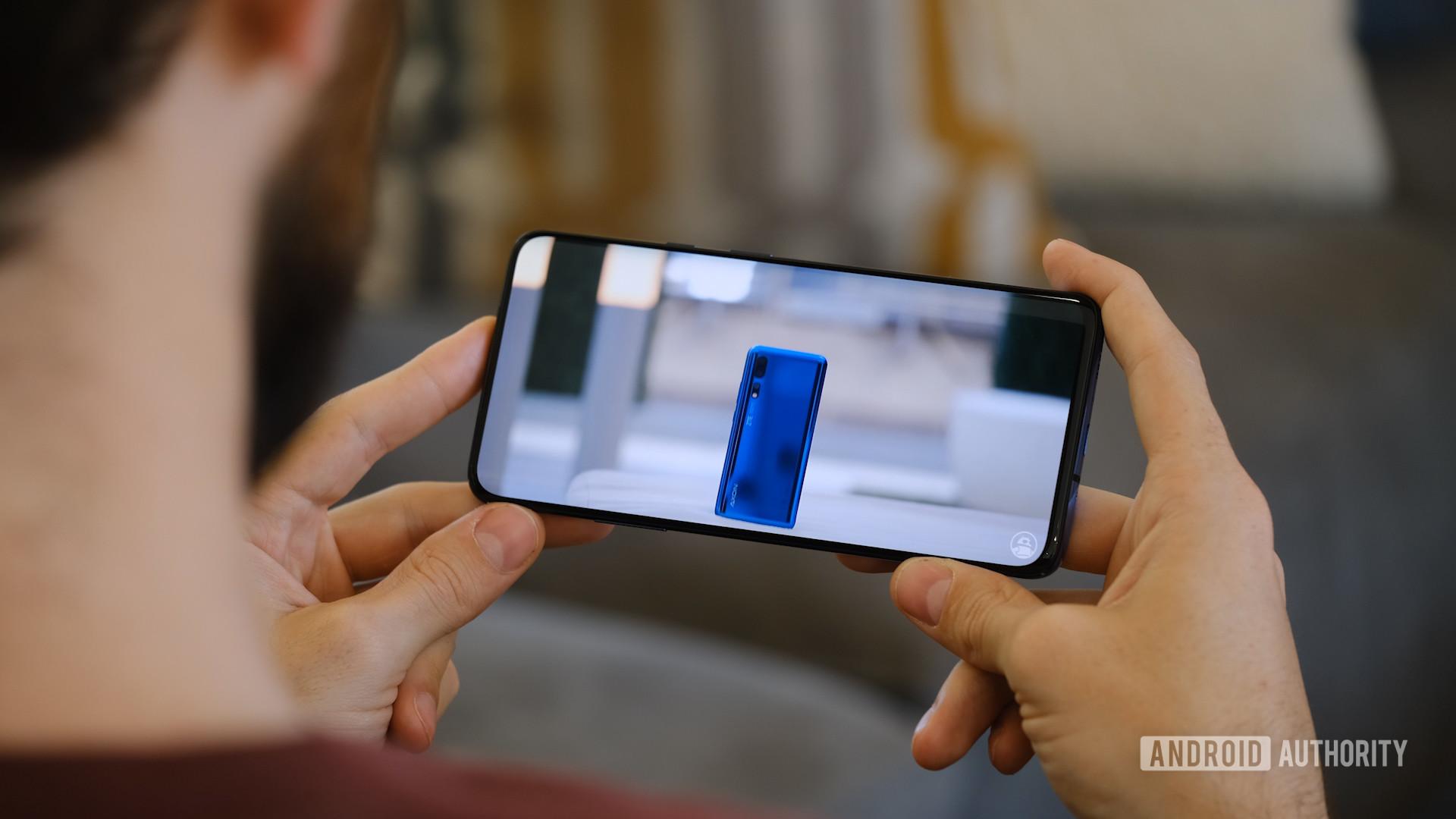 OnePlus 7 Pro wathing YouTube video