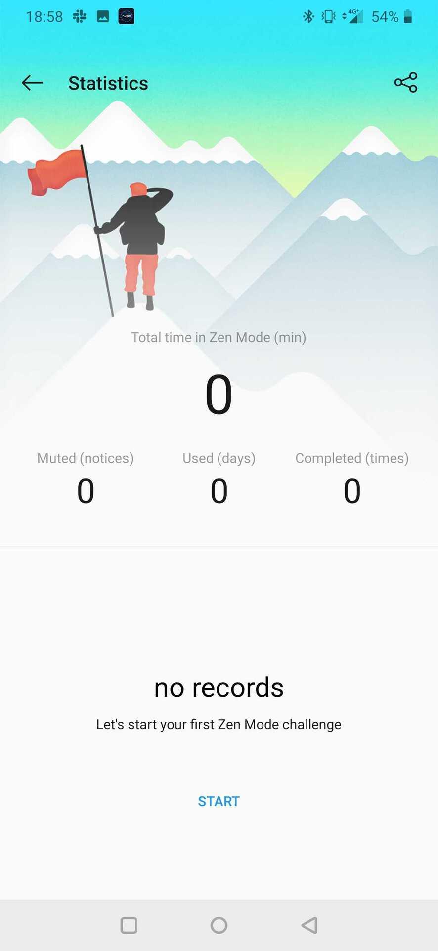 Screenshot of Zen Mode 3