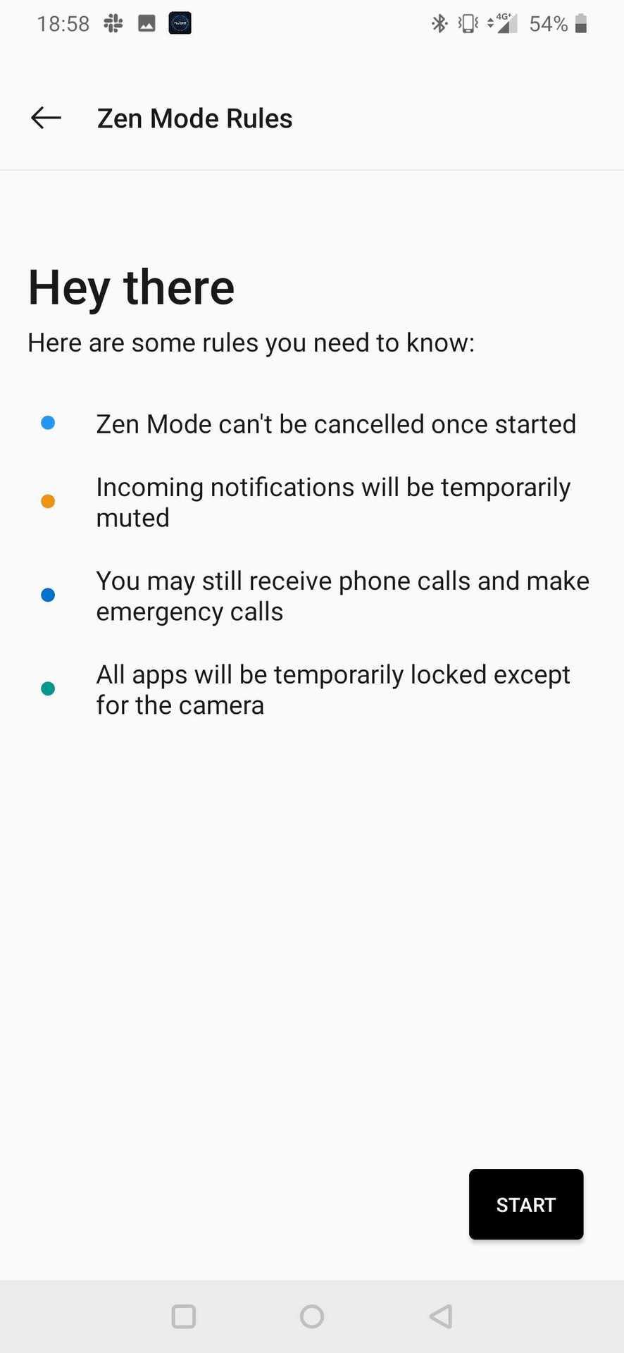Screenshot of Zen Mode 2