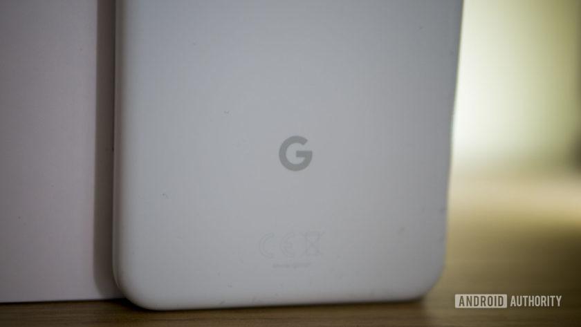 Pixel 3a Google Logo