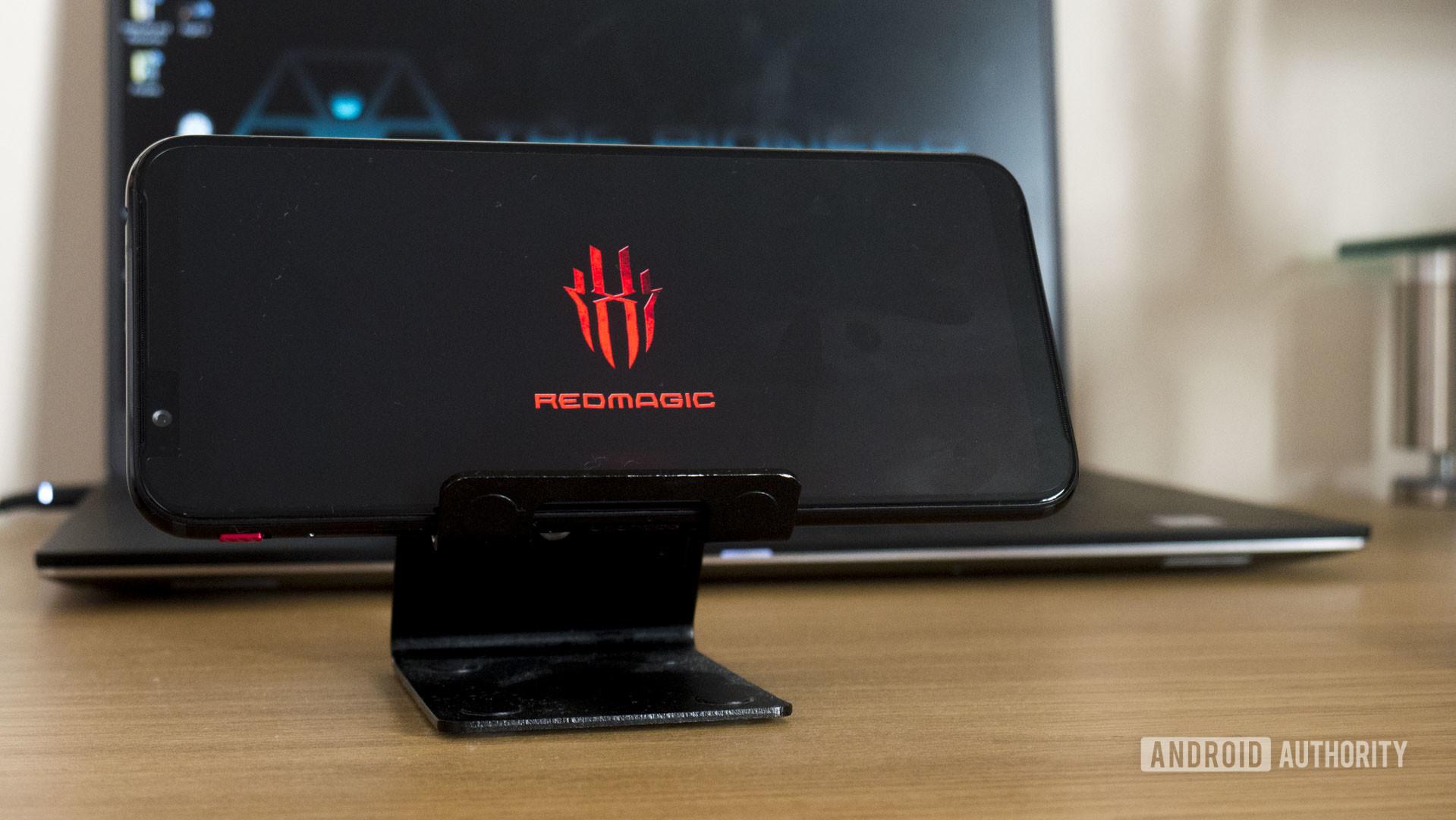 Red Magic 3 Logo Splashscreen