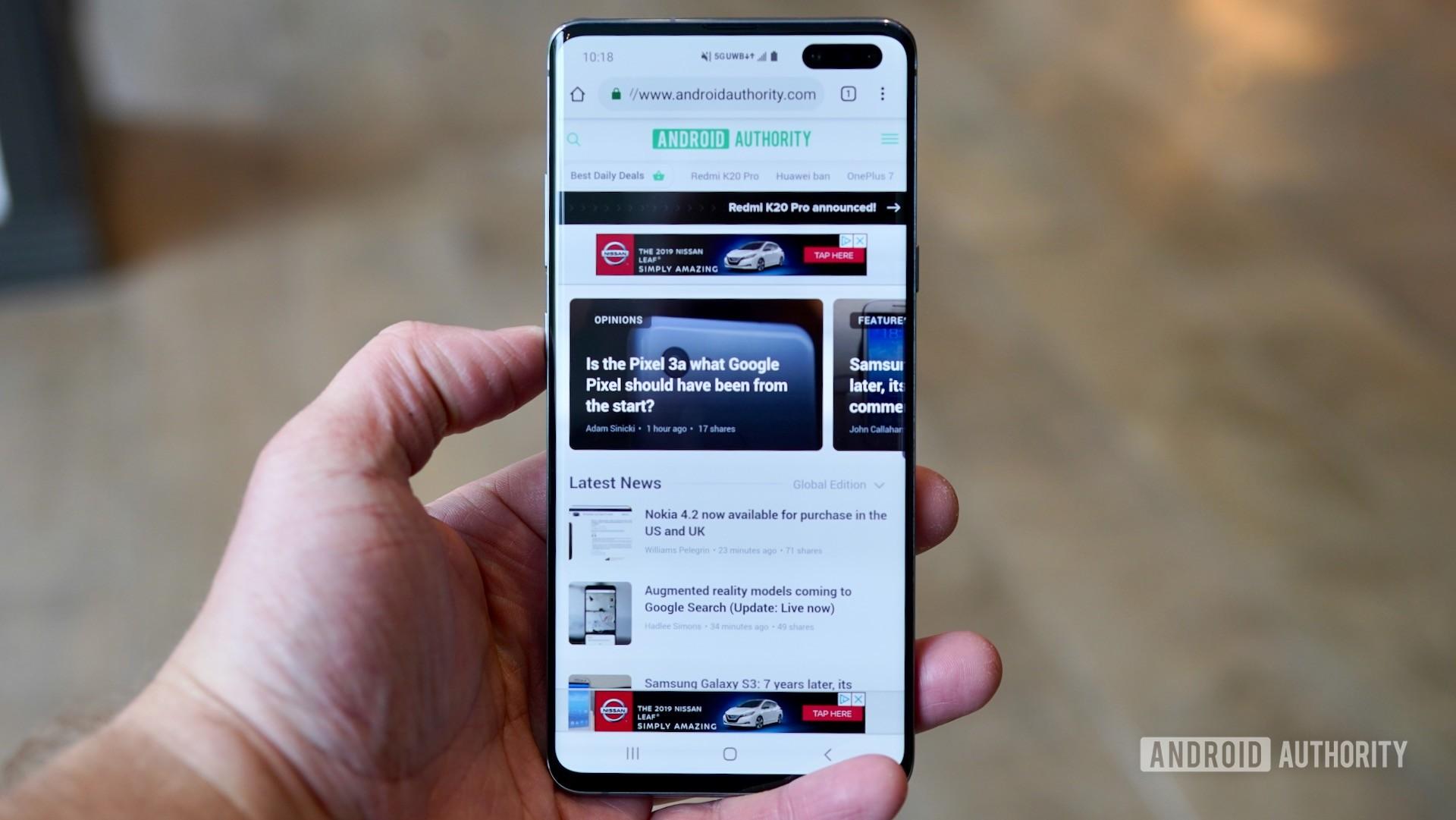 Samsung Galaxy S10 5G Verizon Wireless Android Authority