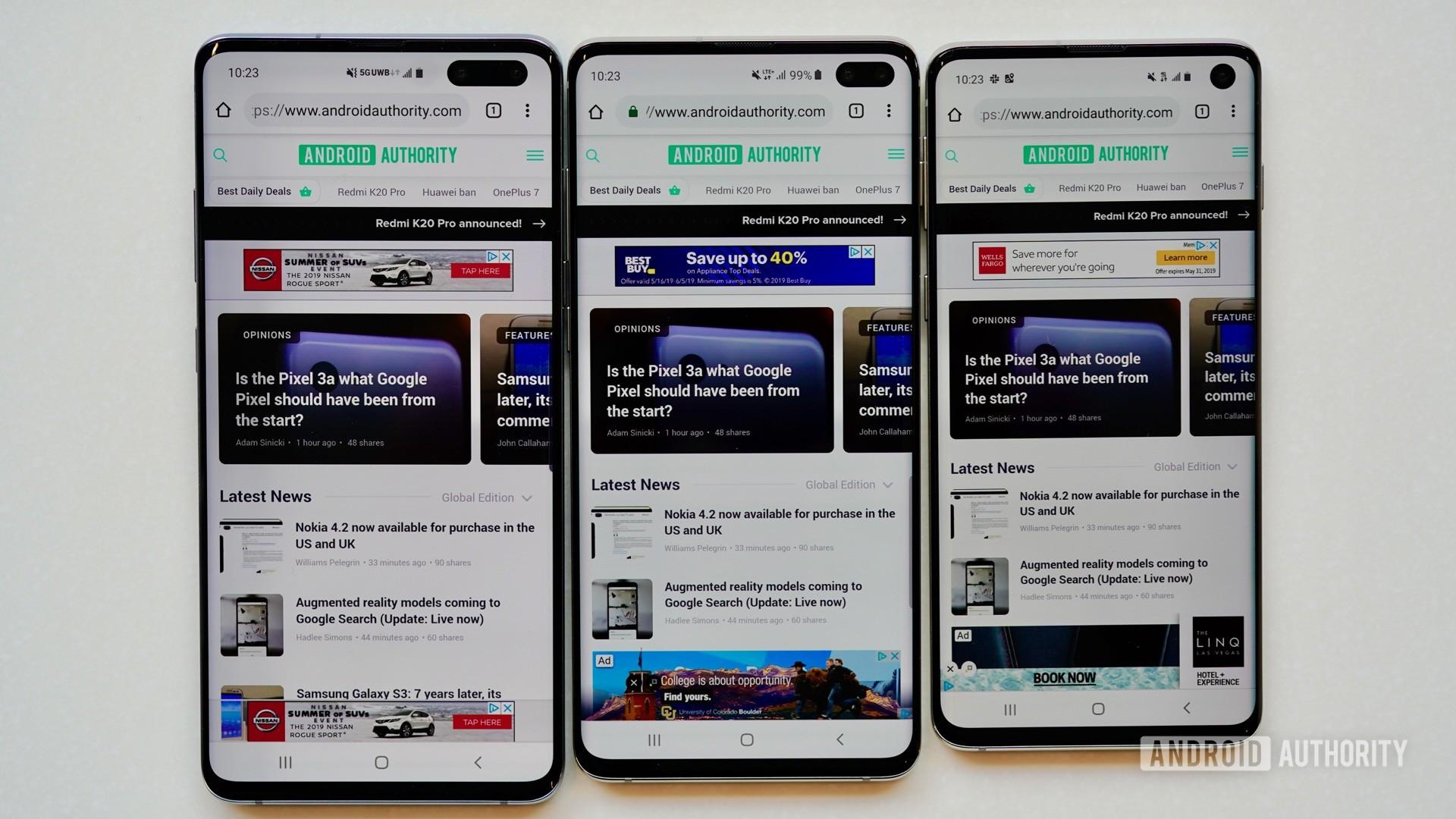 Samsung Galaxy S10 5G Verizon Wireless S10 family