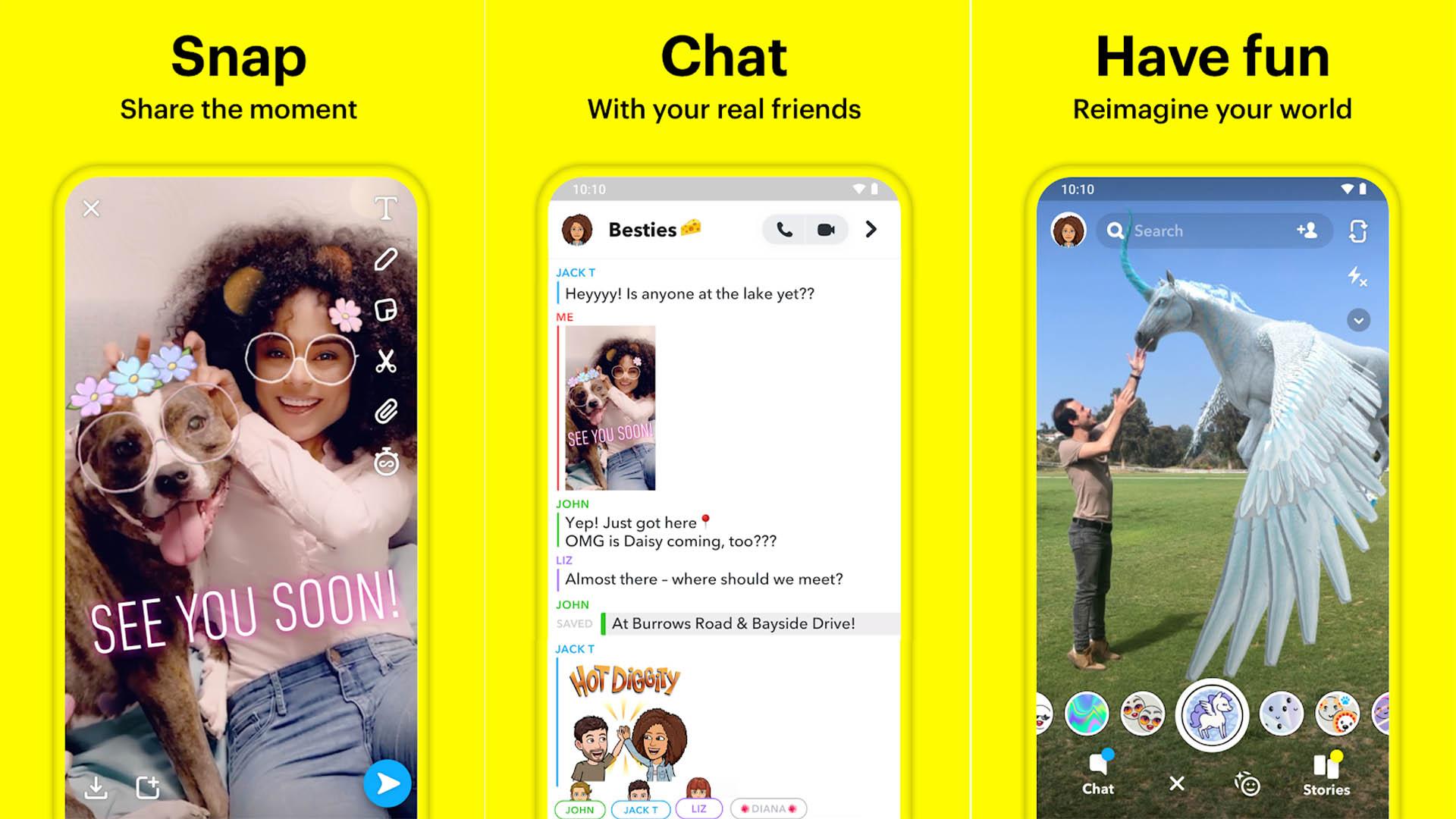 Snapchat screenshot 2019 final