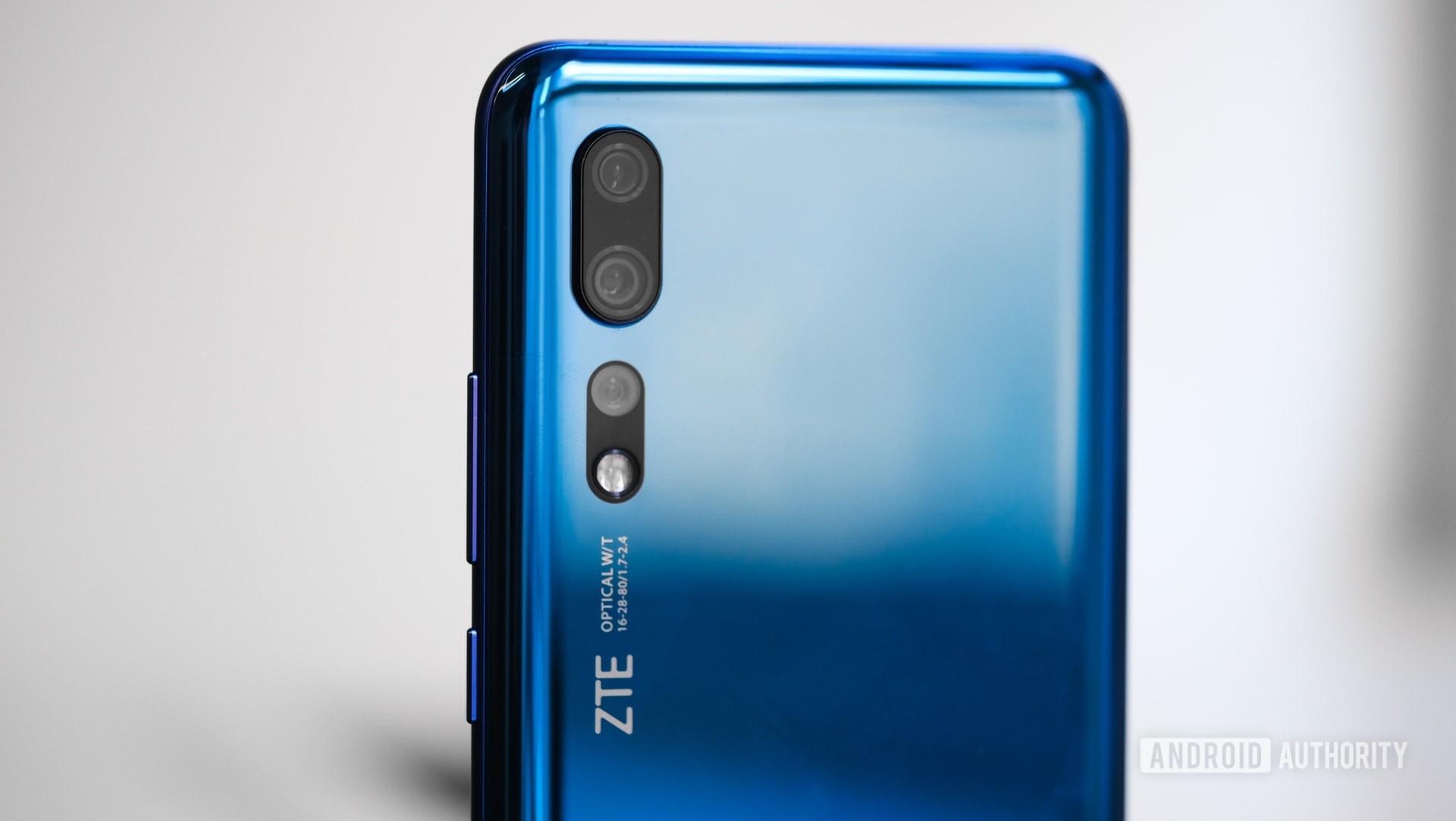 ZTE Axon 10 Pro 4G camera array