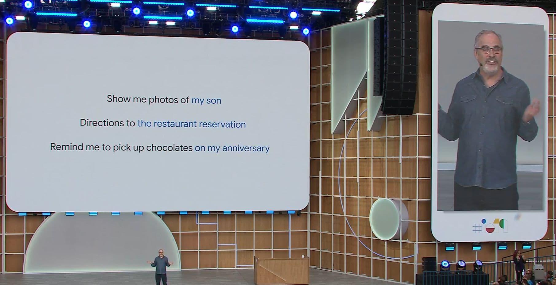 Google I/O - Google Assistant Personalized