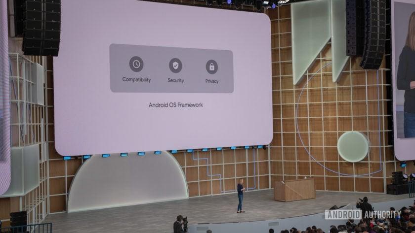 Google I/O 2019 Android OS Framework