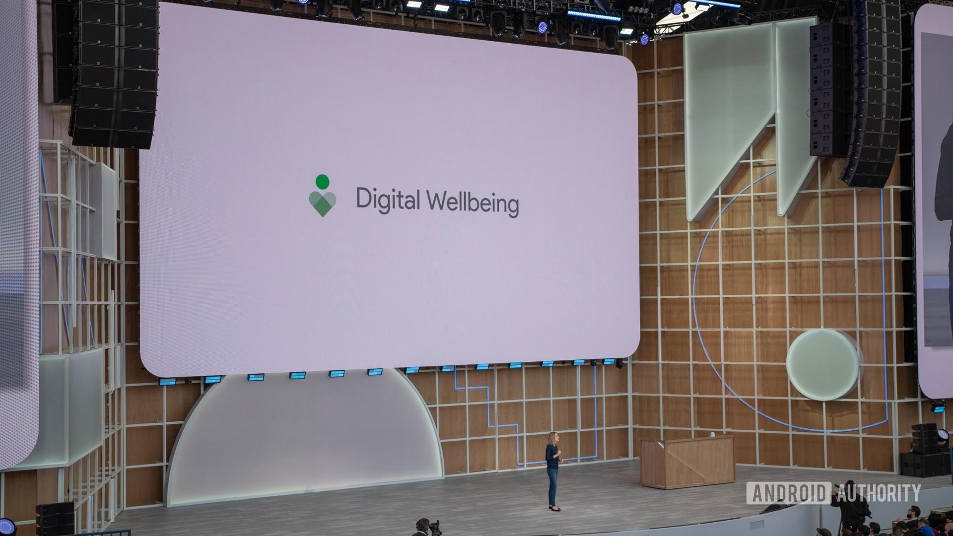 Google I/O 2019 Digital Wellbeing Logo