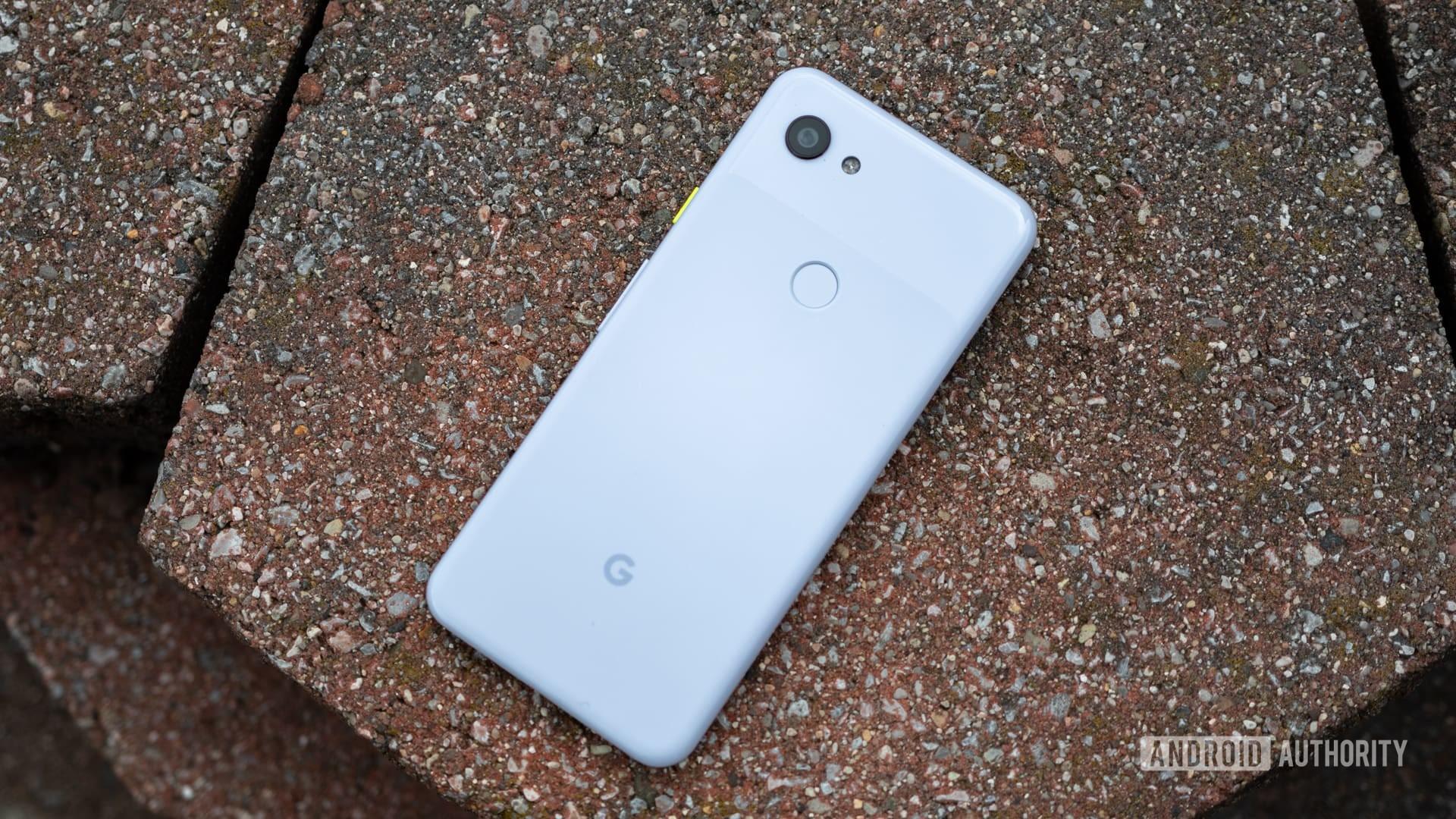 Google Pixel 3a phone on Google Fi
