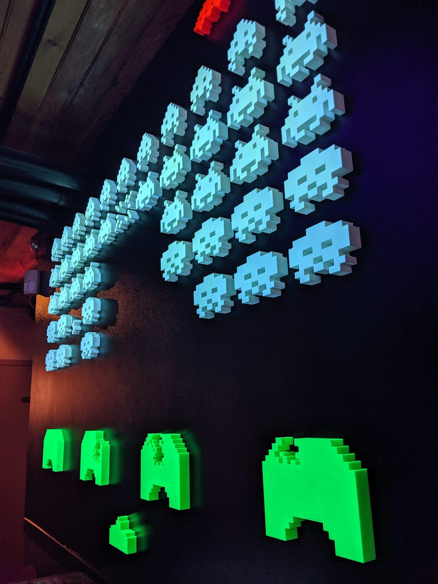 Google Pixel 3a Camera Sample Low Light Wall