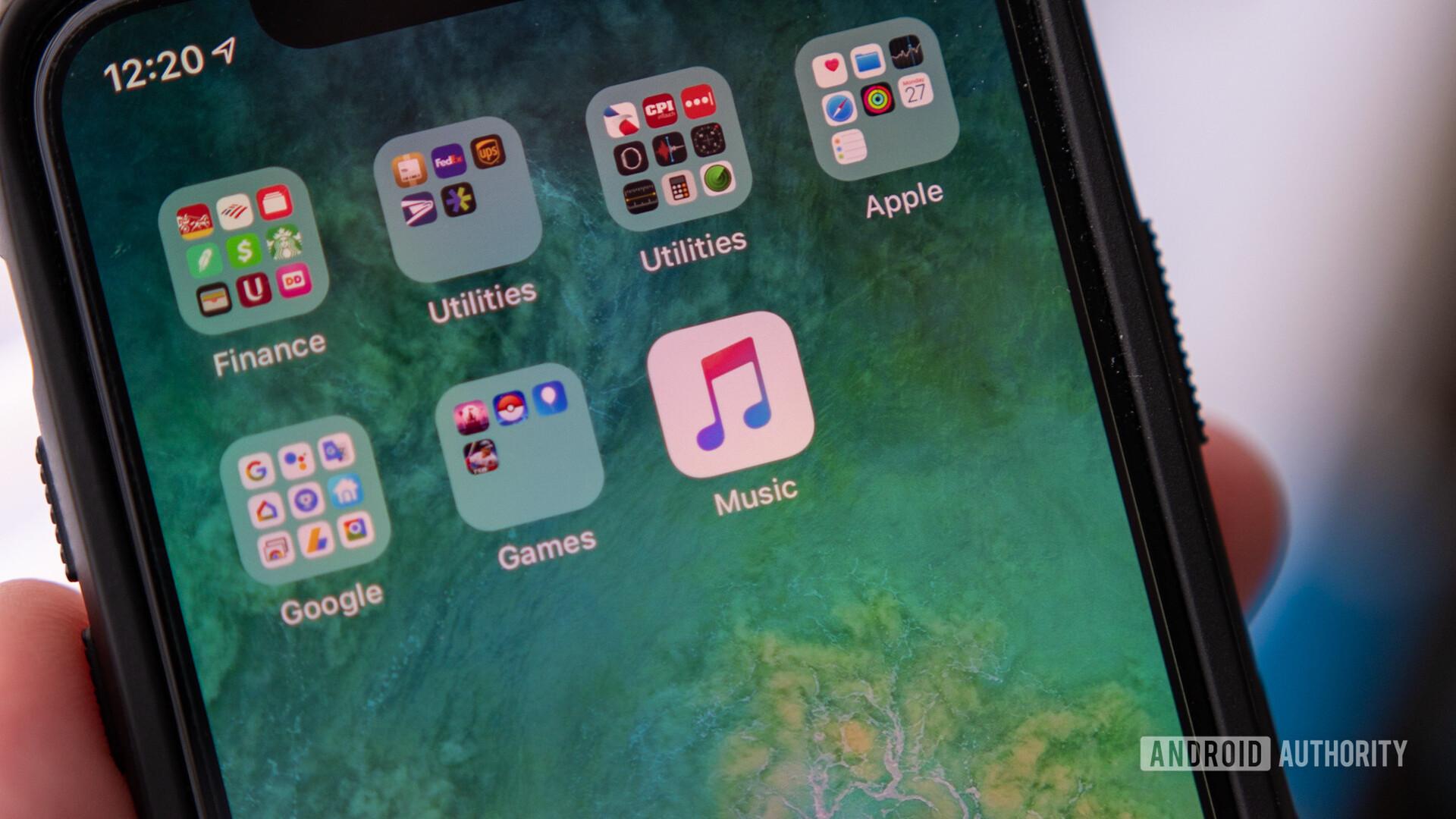 iPhone Apple Music Logo Group