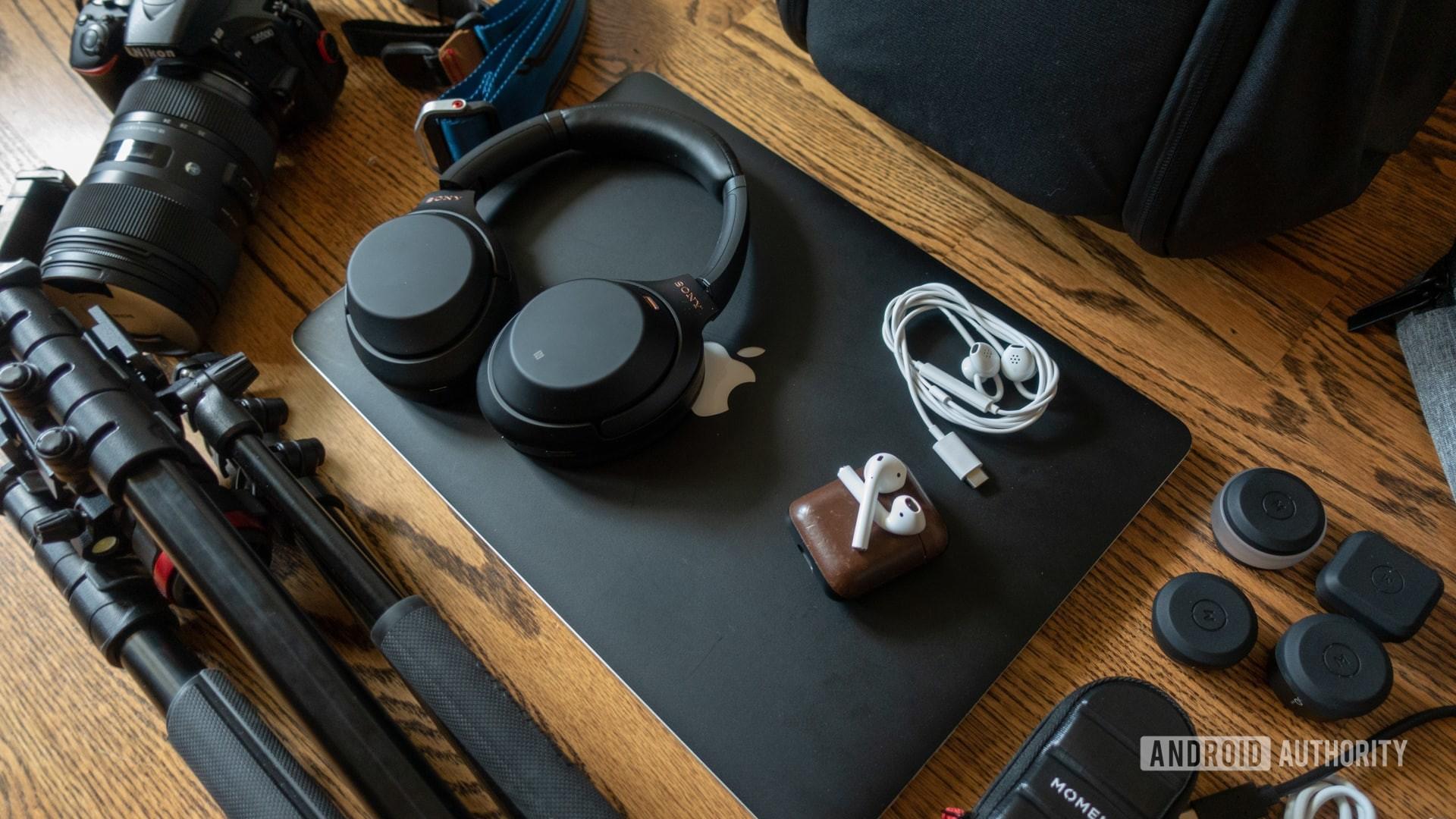 Justin Duino Google I/O 2019 Bag Audio Equipment