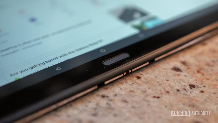 Lenovo Smart Tab P10 Fingerprint Sensor and Pogo Pins
