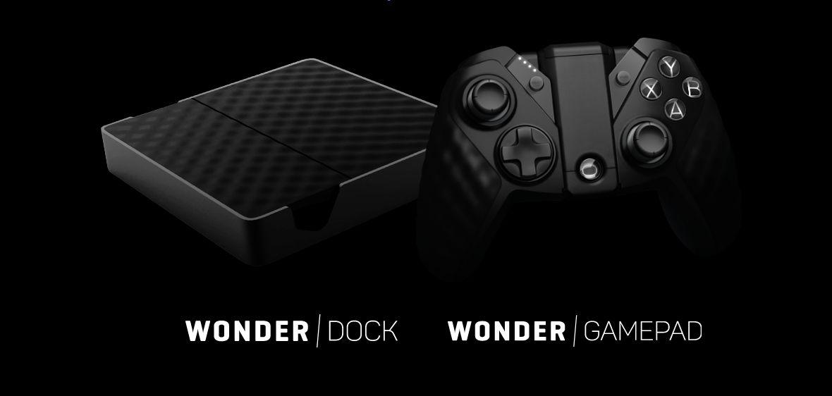 Wonder GamePad and Dock