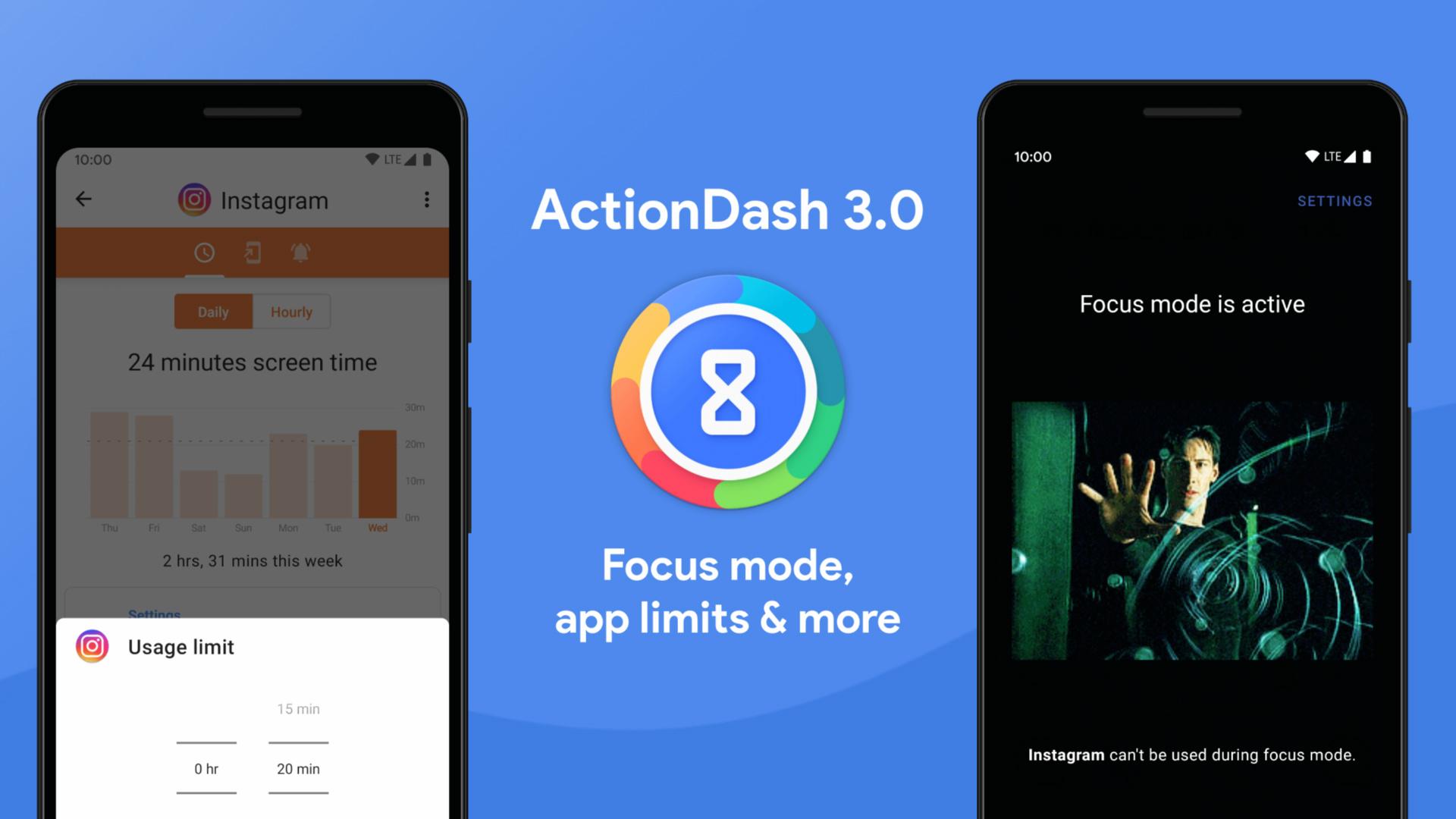 Press image of ActionDash 3.0