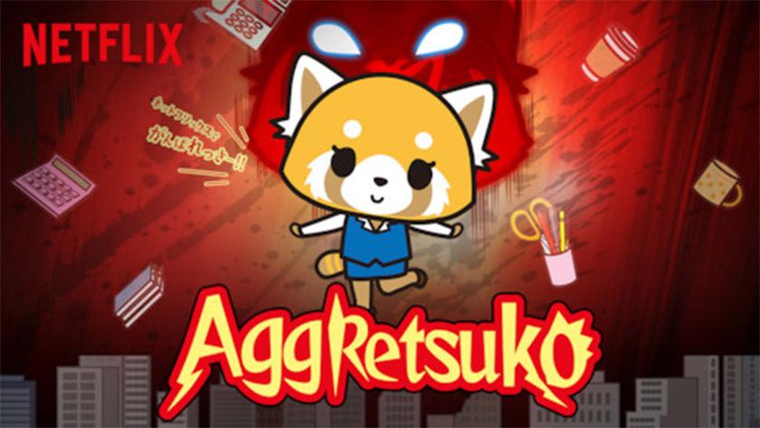 Aggretsuko - best anime on netflix