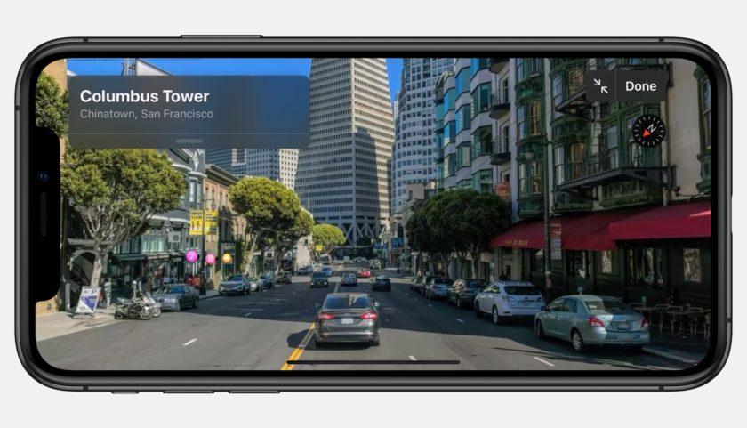 Apple ios 13 look around screen iphone xs-06032019